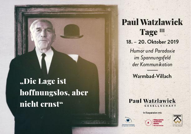PaulWatzlawicktage-2019